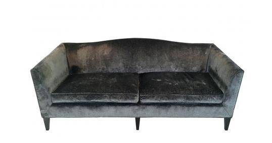 Baker Archetype Camelback Sofa
