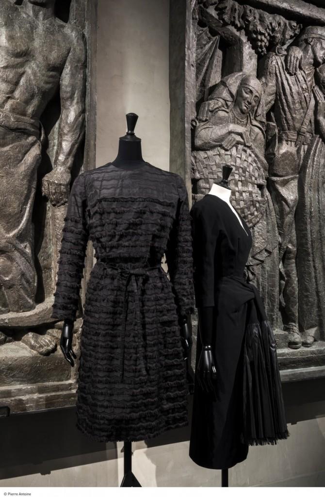 Balenciaga, l'oeuvre au noir_© Pierre Antoine