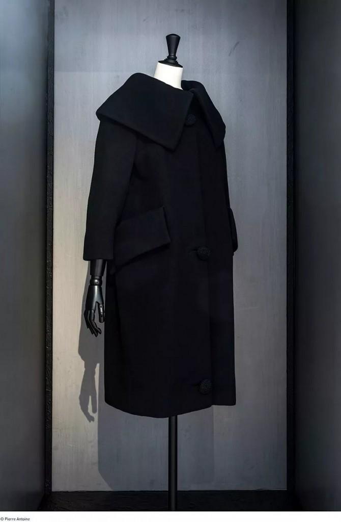 Balenciaga, working in black---