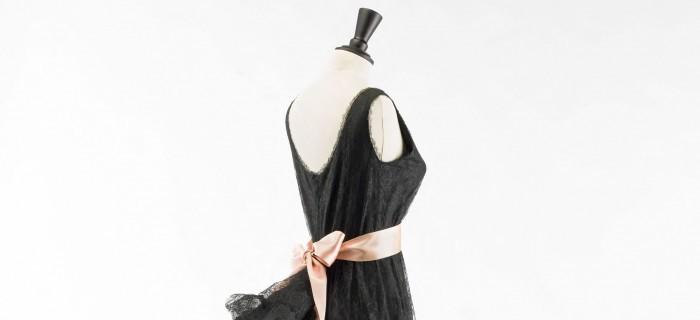 Balenciaga, working in black-Balenciaga, l'oeuvre au noir exhibition-musee bourdelle 2017-dress