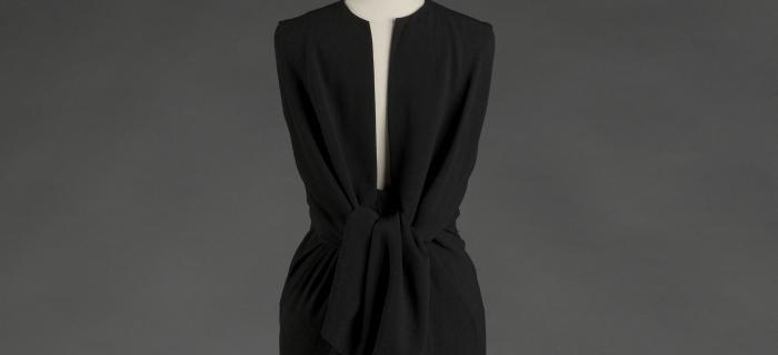 Balenciaga, working in black