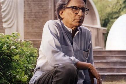 Balkrishna Doshi, 90, wins Pritzker prize for architecture