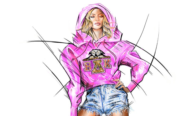 Balmain x Beyonce collaboration