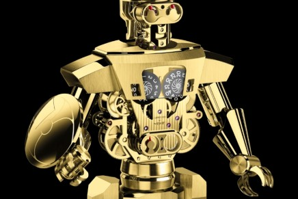 Balthazar by L'Epée 1839 : The final editions of the robot-cum-table clock