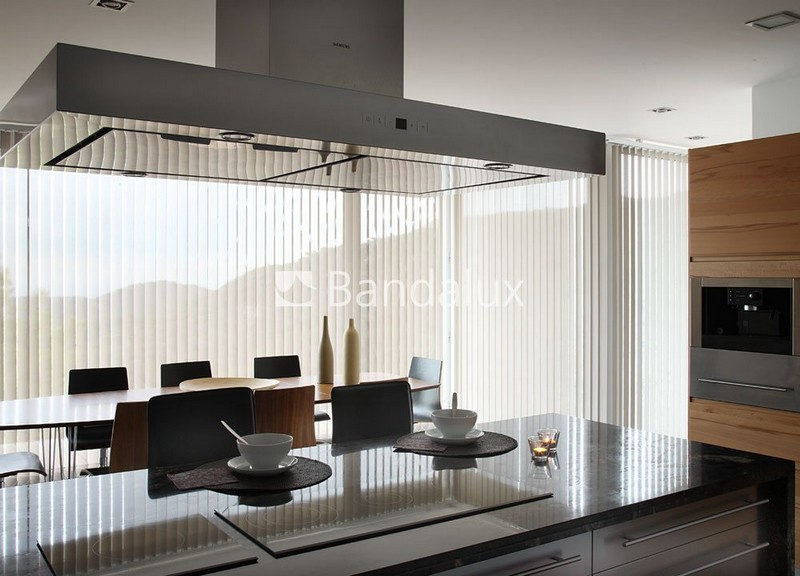 Bandalux vertical blinds-