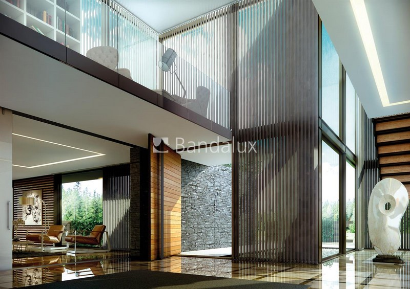 Bandalux vertical blinds