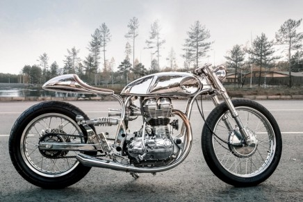Bandit9 Arthur Royal Enfield Continental GT elevates the cafe racer to regality