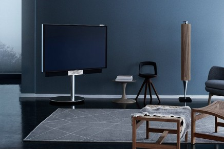 Bang & Olufsen's latest high-end TV turns to face its audience