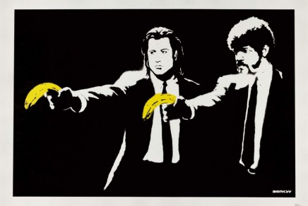 Banksy's most sought-after provocative prints offered in dueling auctions