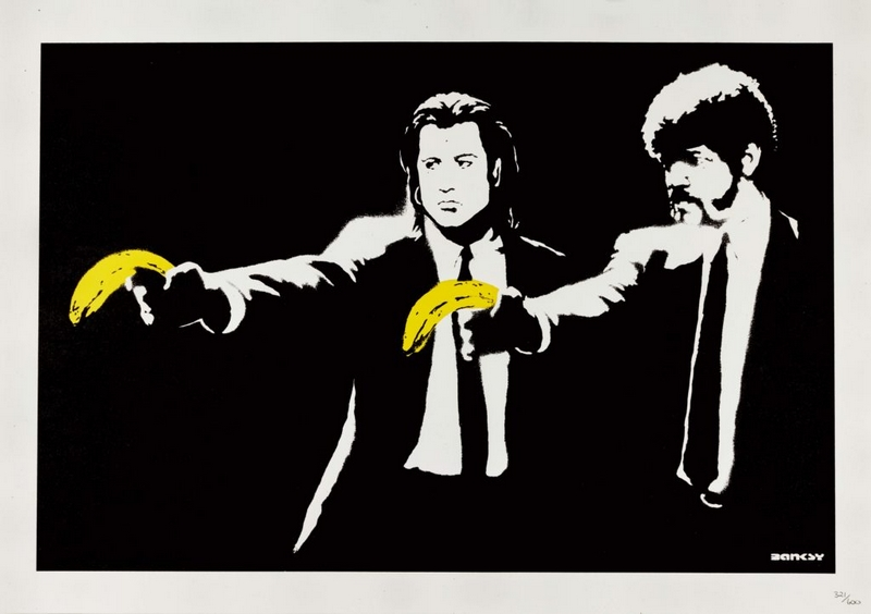 Banksy, Pulp Fiction Sotheby's.