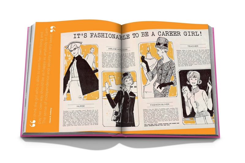 Barbie at 60 by Assouline - career girl
