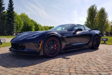 The last production C7 Corvette at auction. All proceeds go to charity