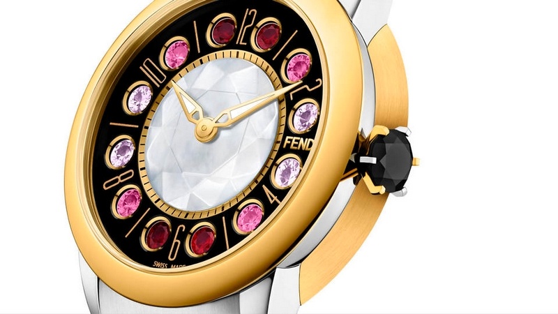 Baselworld 2017 Fendi unveils IShine collection of feminine watches