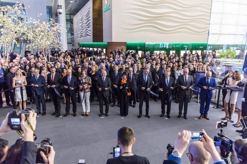 Baselworld 2018 opening ceremony