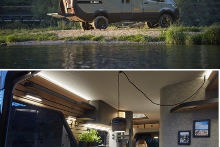 Here is a near-production glimpse into the future of van life