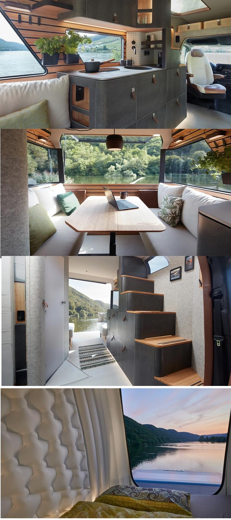 Basf x Hymer Van interiors 2019