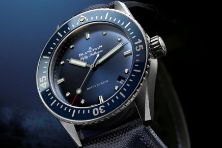 Bathyscaphe Fifty Fathoms: Blancpain welcomes a new addition to the family at Baselworld