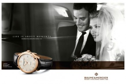 """""""Life is about moments"""". Peter Lindbergh for Baume & Mercier"""