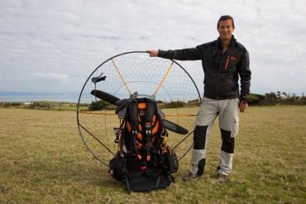 BG Paramotor. The paramotor of survival expert Bear Grylls