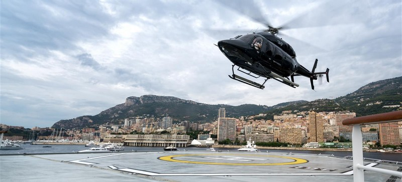 Bell Helicopter at Monaco Yacht Show2017-