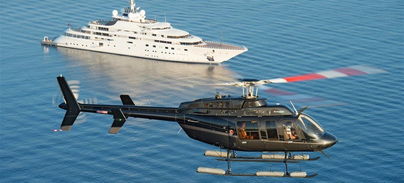 Bell Helicopter at Monaco Yacht Show2017-gallery