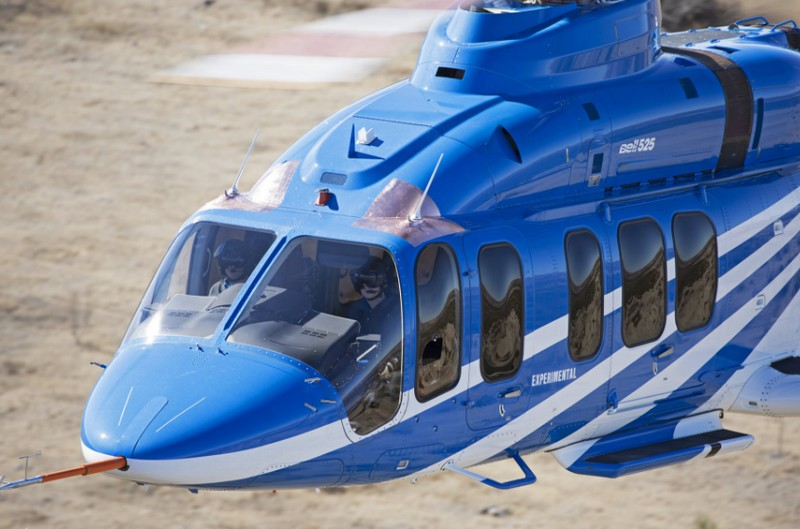 Bell Helicopter's new flagship VIP helicopter 525 Relentless - experimental