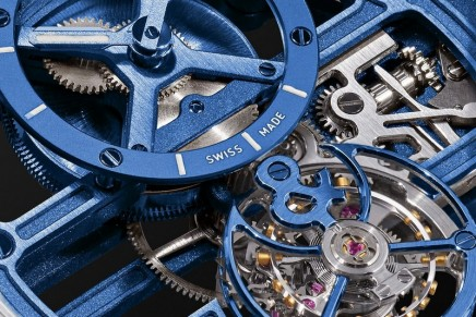 Total transparency: Bell & Ross BR-X1 – the Chronograph Tourbillon Sapphire watch with a skeletonized effect
