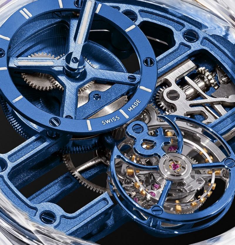 Bell & Ross BR-X1 Chronograph Tourbillon Sapphire - closeup