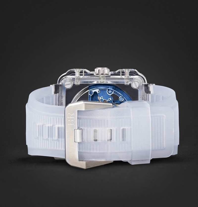 Bell & Ross BR-X1 Chronograph Tourbillon Sapphire - translucent