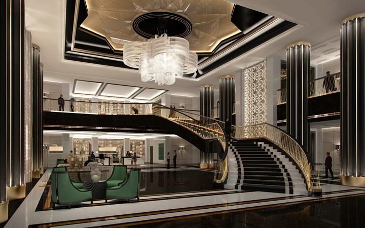 Bellagio Shanghai- ultra-luxury hotel design in China