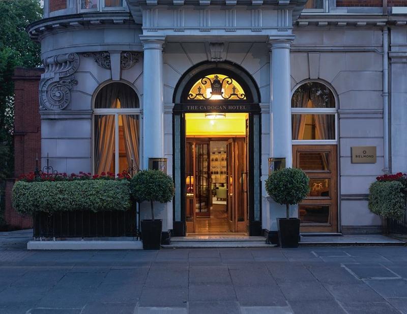 Belmond Cadogan Hotel is a London legend reborn - entrance