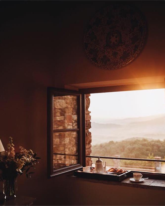 Belmond Castello di Casole - Breakfast in your room is a perfect way to start another beautiful day in Tuscany