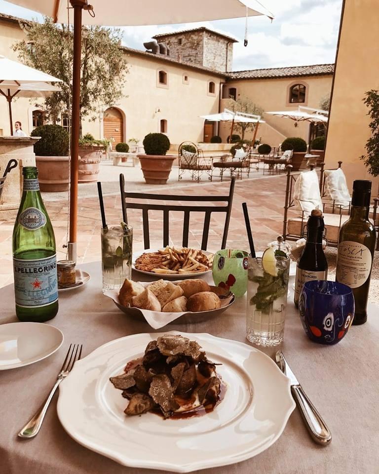 Belmond Castello di Casole - How about some truffle under the Tuscan sun