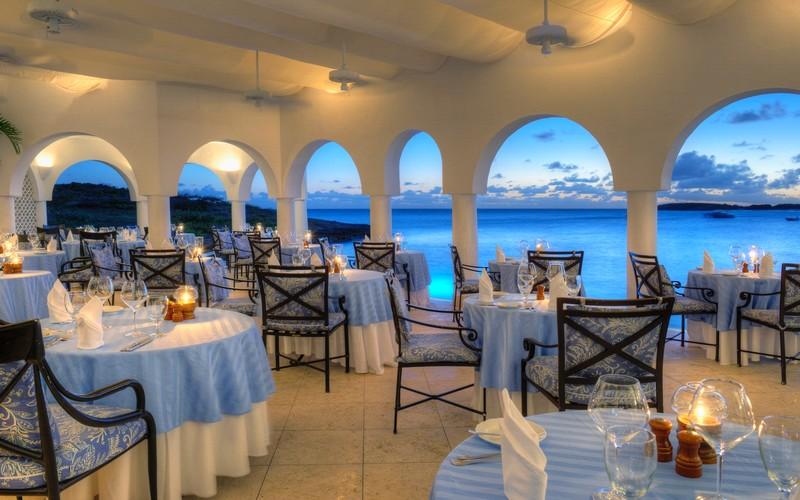 Belmond acquires Caribbean Resort – Cap Juluca in Anguilla- restaurant photo gallery