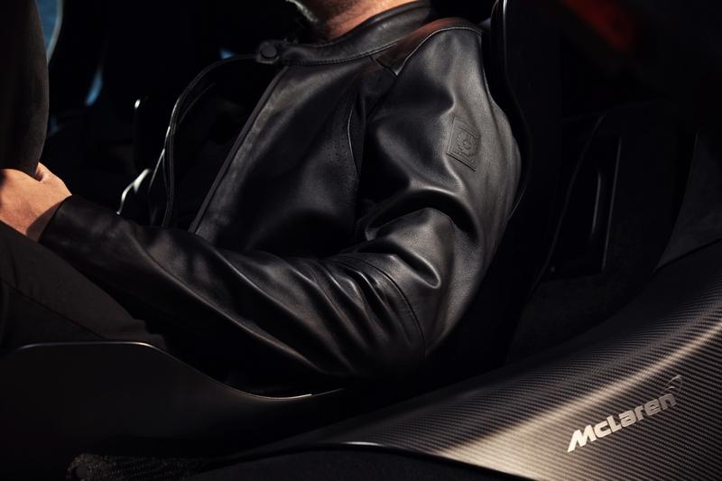 Belstaff X McLaren Collection-Hybrid Leather Jacket -McLaren 600LT