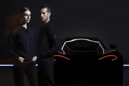 At the wheel and beyond the supercar: McLaren x Belstaff create unique capsule of timeless classics for men and women