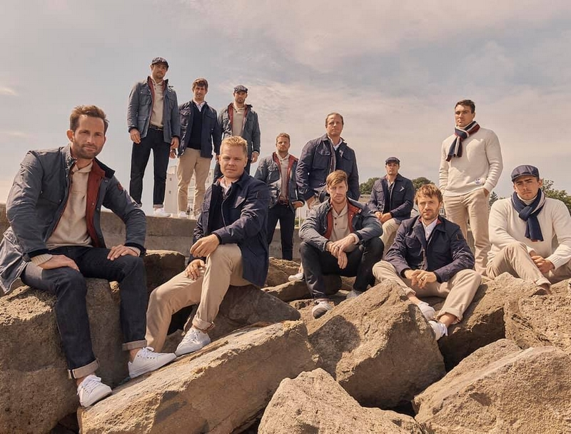 Belstaff designed the official on shore capsule collection for INEOS Team UK 2019 - Copy - Copy