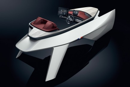 Sea Drive Concept by Peugeot and Beneteau: an innovative interior design concept