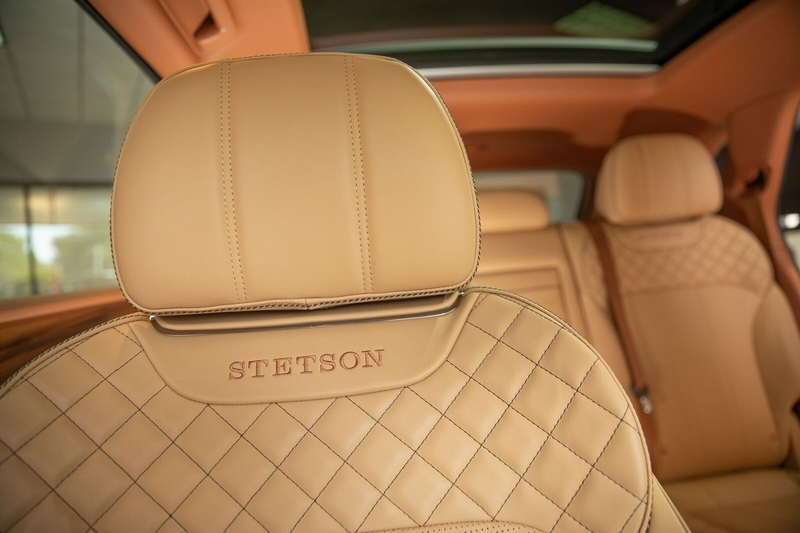 Bentayga Stetson Special Edition - a timeless vehicle for discerning Western enthusiasts -