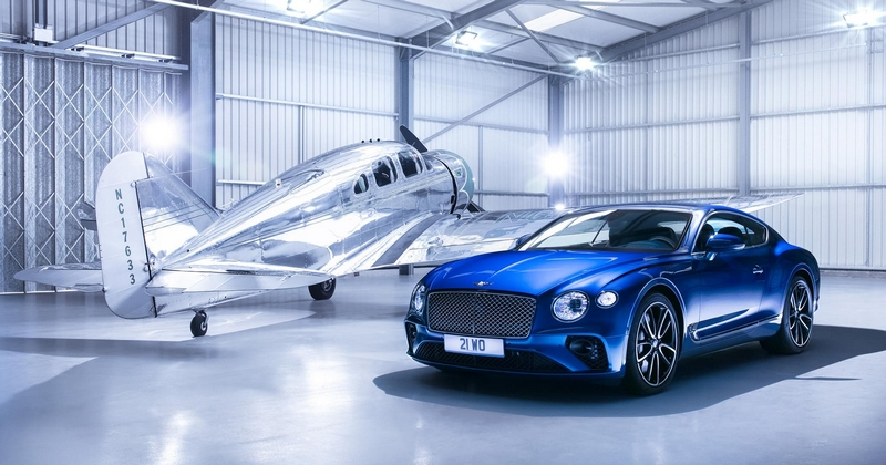 Bentley 100 Years The Continental GT is the first production car ever to have an entire body side made from the Superforming process