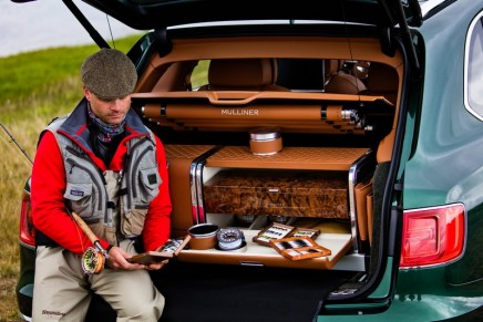 Bentley creates the ultimate luxury car for fly fishing enthusiasts