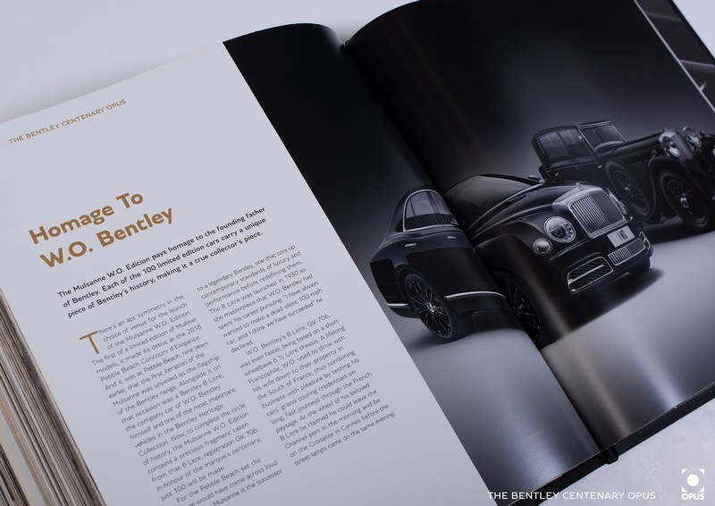 Bentley Centenary Opus Book History