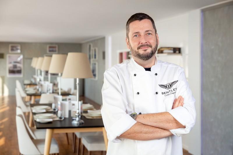Bentley -Chef Colin Clague