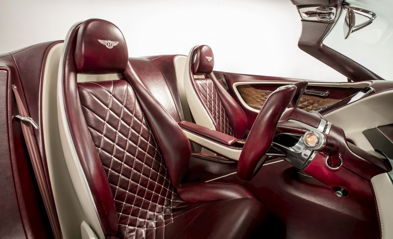 Bentley EXP 12 Speed 6e unveiled at 2017 Geneva Motor Show - Interior Driver's Eye View-
