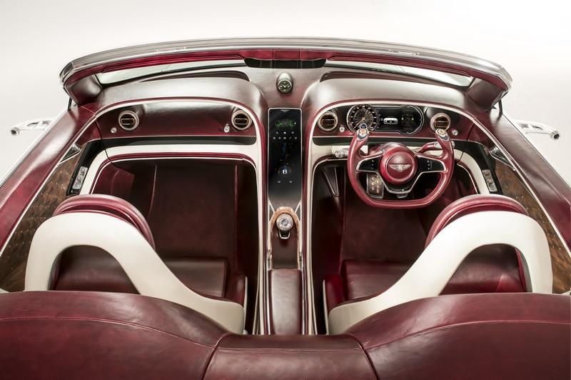 Bentley Electric EXP 12 Speed 6e concept car at the 2017 Geneva Motor Shown -