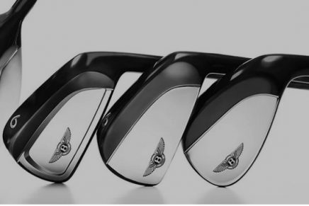 High-performance Bentley golf clubs brings power to the tee for pro and leisure golfers