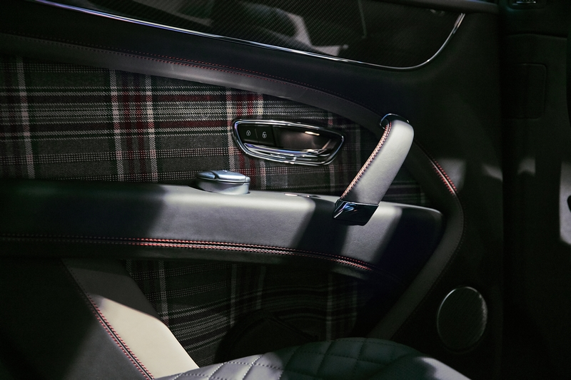 Bentley Huntsman hero - Limited edition Bentaygas dressed by renowned Savile Row tailor 2019-