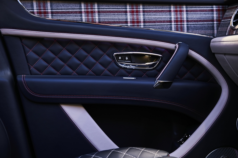 Bentley Huntsman hero - Limited edition Bentaygas dressed by renowned Savile Row tailor 2019