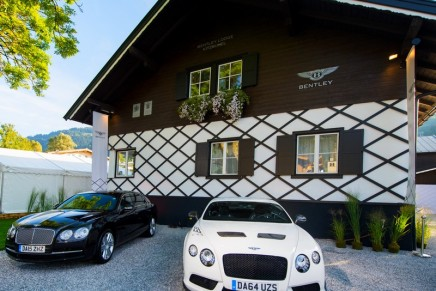 Bentley's first Mountain Lodge, Bentayga and the luxury leather