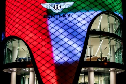 Bentley opens its largest showroom in the world